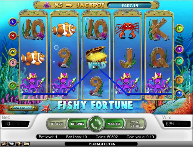 Fishy Fortune Slot